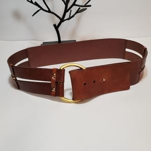BANANA REPUBLIC Tabacco Brown Leather/Distressed